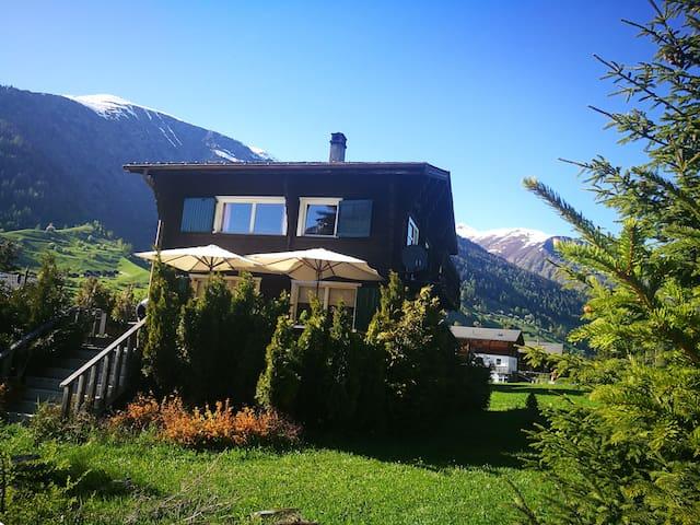 Encantador chalet en Suiza!