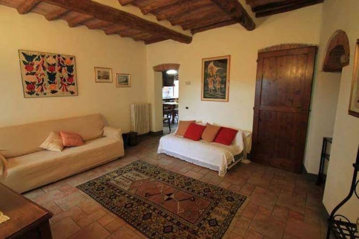 Charming tuscany country house - Poggibonsi - Appartement