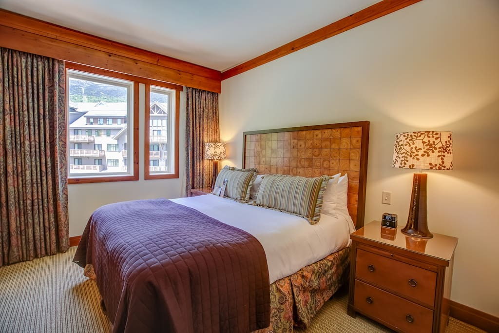 Spacious Bedroom with King Bed
