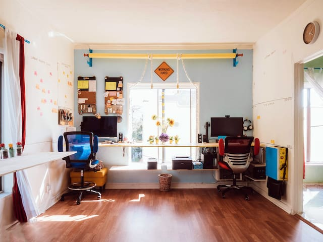 Bright and Colorful Silver Lake Studio - Los Angeles - Appartement