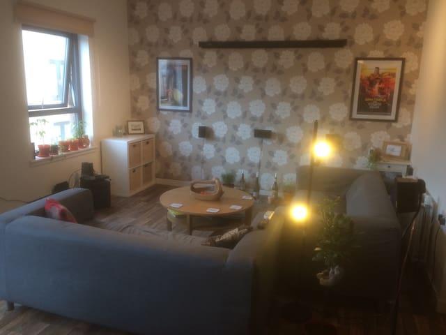 Single room in modern flat in Edinburgh - 愛丁堡 - 公寓