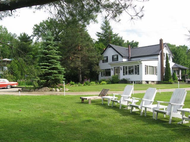 The Muskoka River Homestead