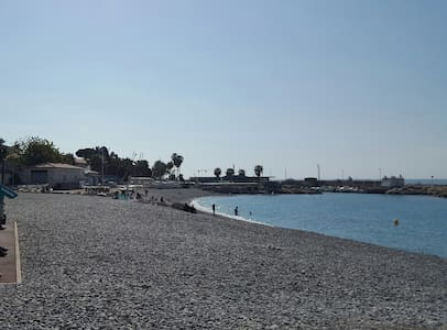 Comfortable 3 rooms apartment, 200 m from the sea - Cagnes-sur-Mer - Appartement