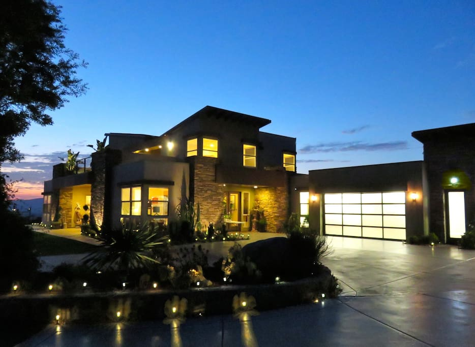 DragonPoint Villa at dusk