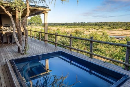 Mjejane River Chalet in Kruger National Park - Malelane
