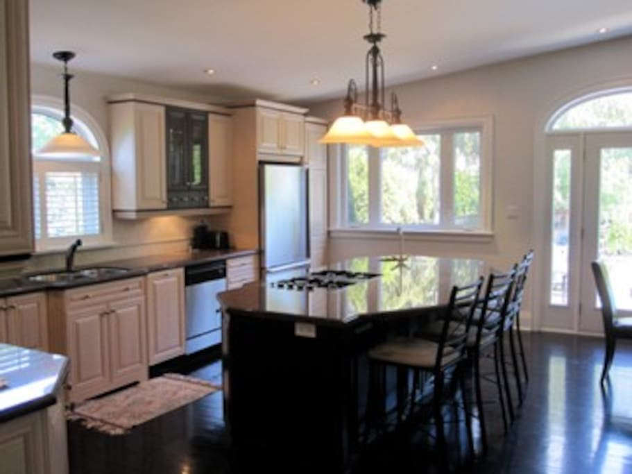 Kitchen -- Open concept.  Great for entertaining.