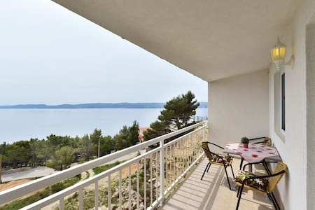 40sqm with a fantastic view A