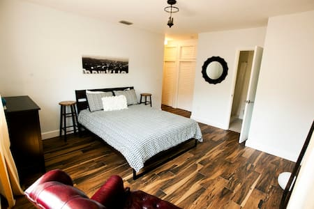 Private master suite in a new house