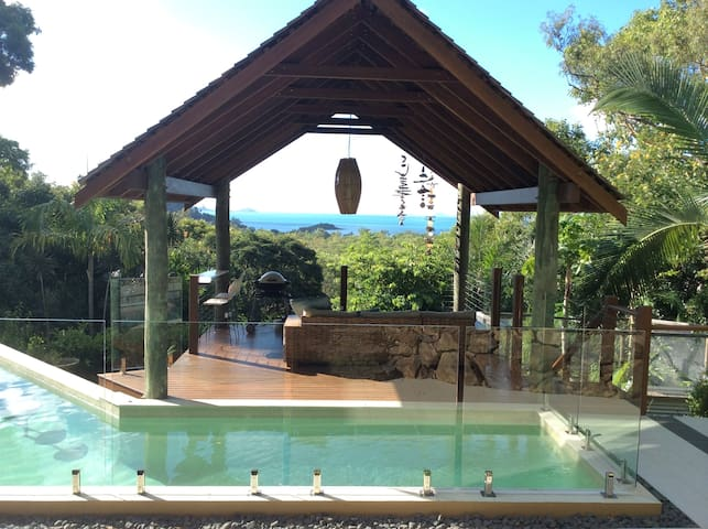 Beautiful view,secluded,luxury pool - Cannonvale - Dom