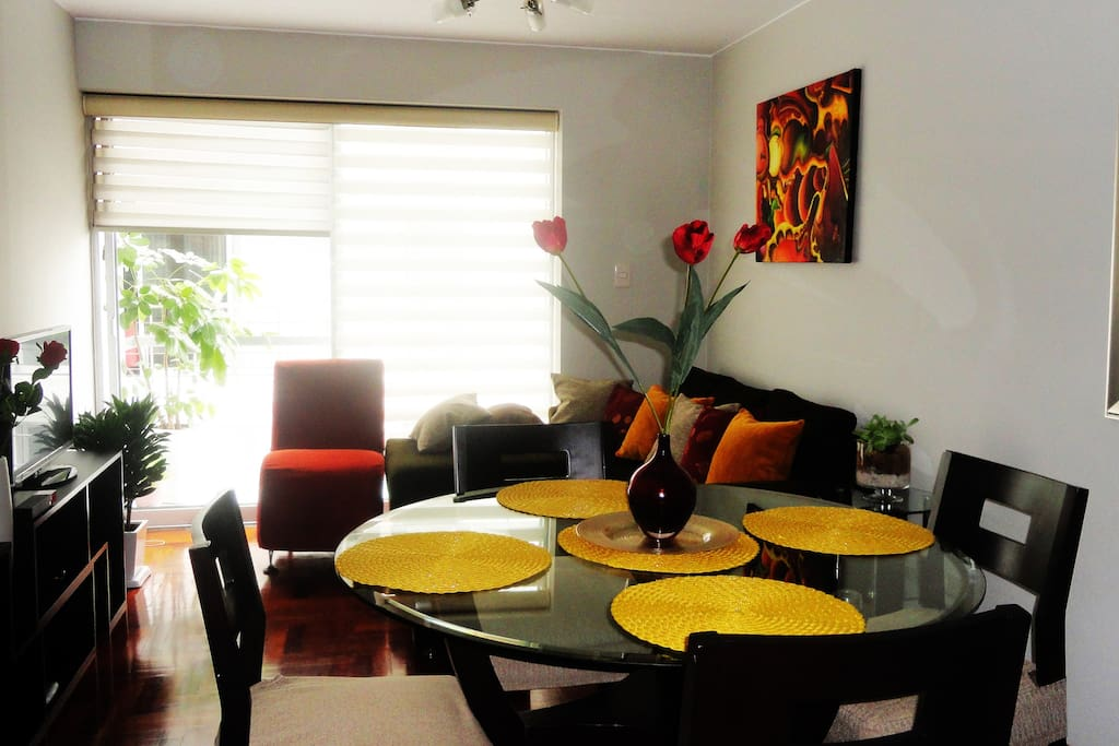 Sala-Comedor / Living and Dinning room