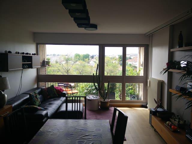 Appartement spacieux et lumineux - L'Haÿ-les-Roses - Flat