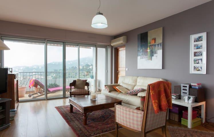 chambre cosy vue mer à 5' ferry - Ville-di-Pietrabugno - Apartment