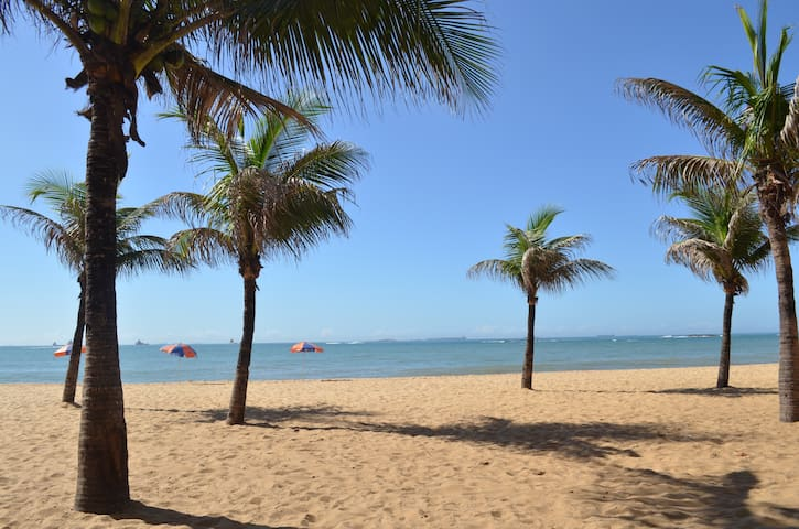Vila Velha-ES Praia de Itapuã. - Vila Velha - อพาร์ทเมนท์