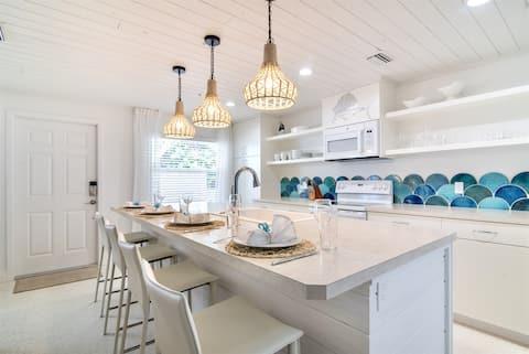 NEUES INSERAT! Sailfish Gulf Suites #3, Moderne Annehmlichkeiten, Schritte zum Strand
