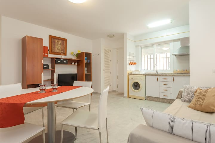 Rent of flat in Spanish beach