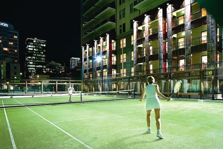 Tennis Court (Racquet hire available)