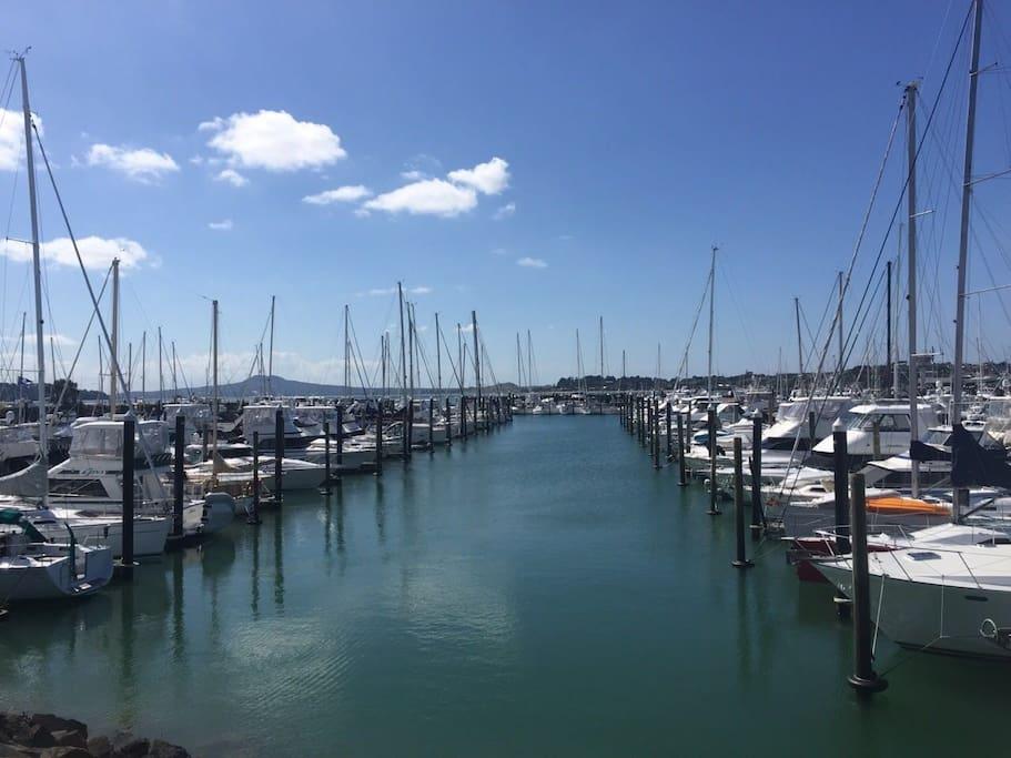 半月湾渡轮码头( Half Moon Bay Ferry Terminal)周边游艇俱乐部