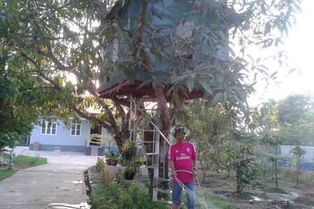Peaceful house in Hlugu, Yangon - Hlegu