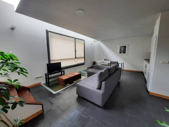 Casas da Brìxida. Duplex no Casco Vello de Cangas