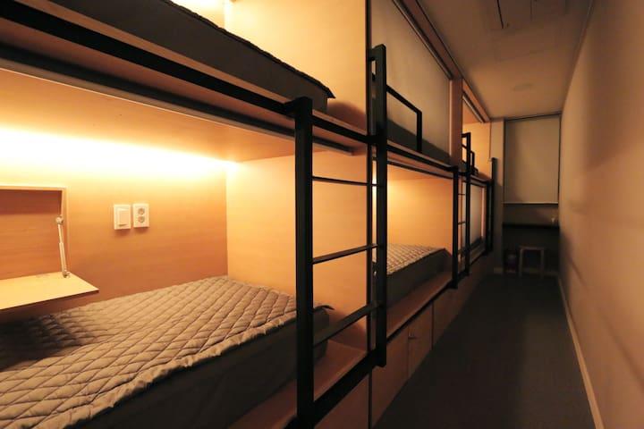 Tidy! Blueboat-Dorm.6/Female - Gyeongju-si - Bed & Breakfast