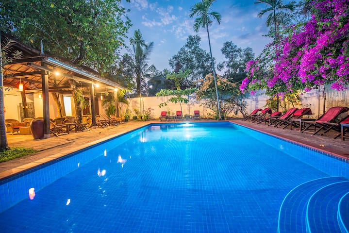 Solo Traveler Room in Siem Reap with Free Pick up