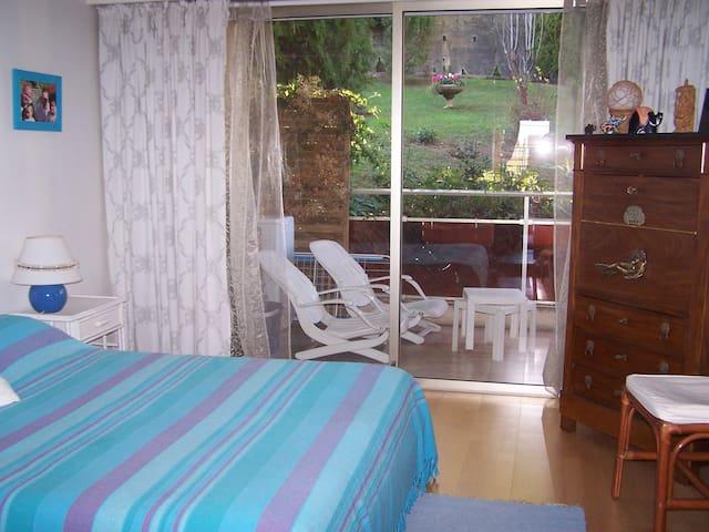 chambre et 2ème terrasse