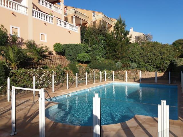 Très beau F2 résidence calme - La Croix-Valmer - Apartment