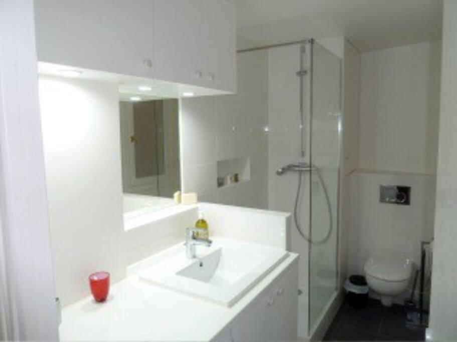 Salle de bain / douche à l'italienne