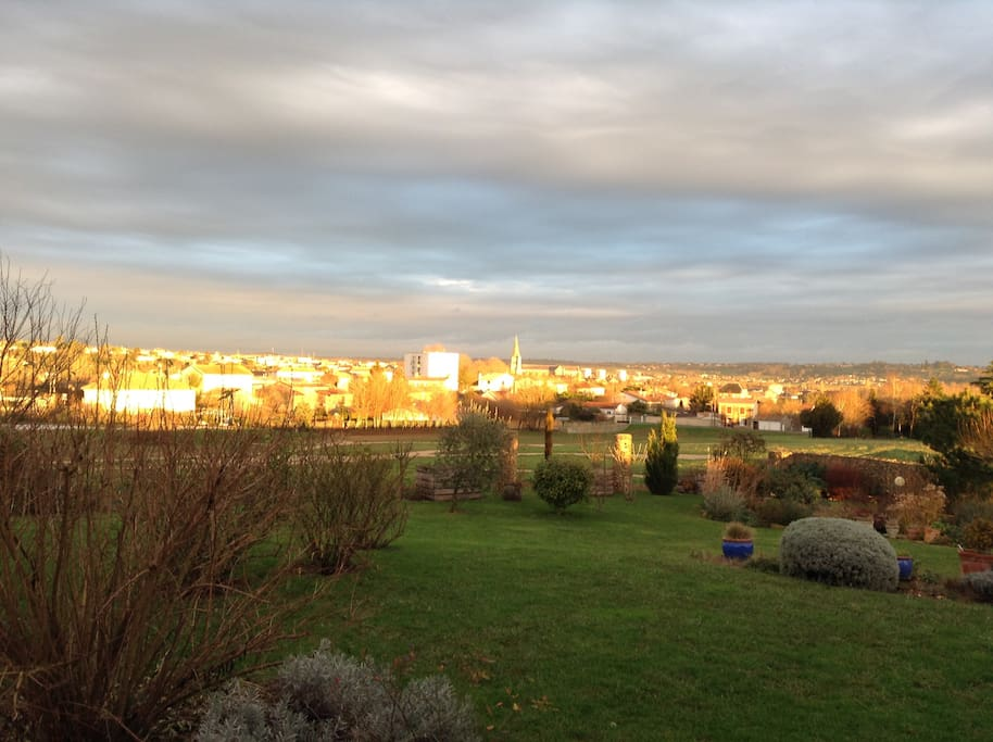 Lever de soleil sur Saint Maixent l'Ecole