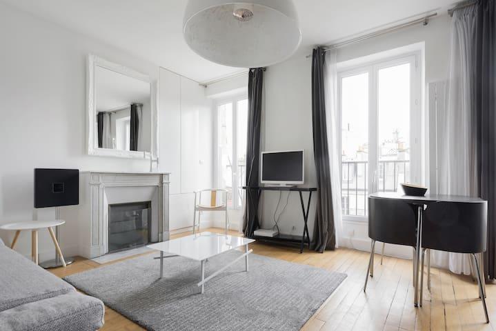 Contemporary pied-à-terre in Paris  - Paris - Apartment