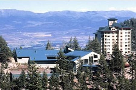 Ridge Tahoe Condo at Heavenly Stagecoach Chairlift