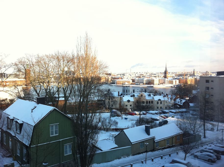 Winter view from our home.