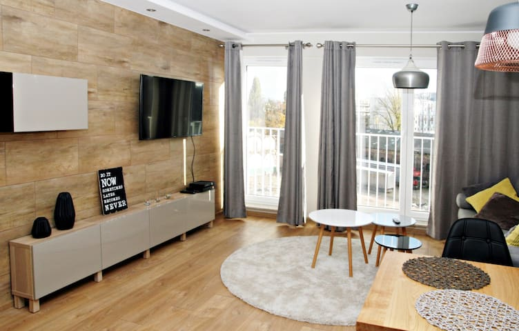Beautiful new apartment in the center - Wrocław - Apartemen