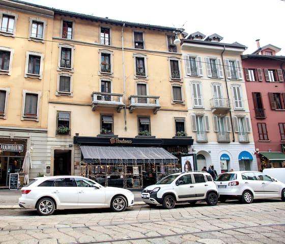 Rare 1BD Brera Milan Aparthotel/WiFI/P.za Castello