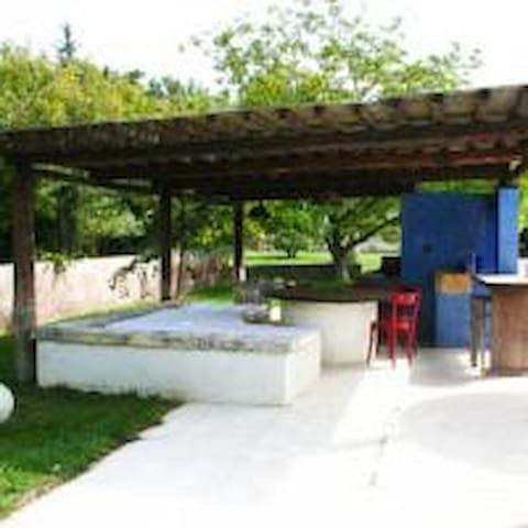Dependance in villa