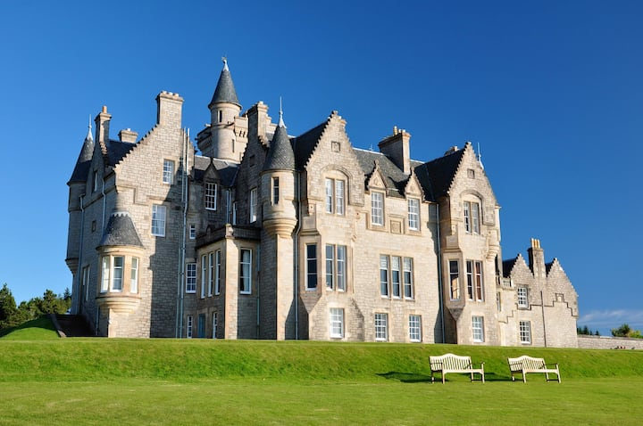 Glengorm Castle: The Tower Rooms