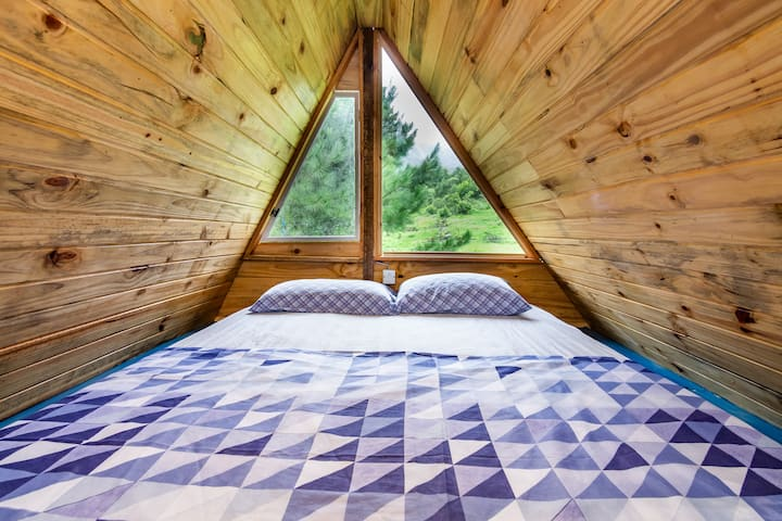 Cabana com vista para as estrelas em Maquiné