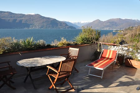Sensational lake view - Porto Valtravaglia - Apartment