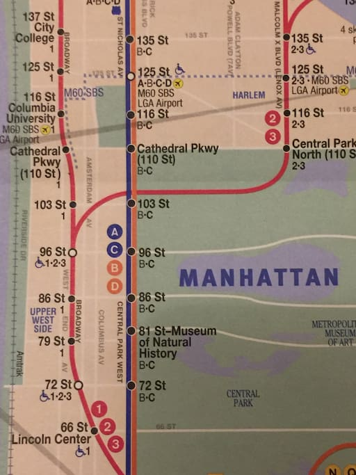 This listing is closest to the 103rd Street train stations.