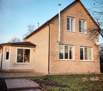 Несколько комнат в двухэтажном доме - Staraya Russa - Huis