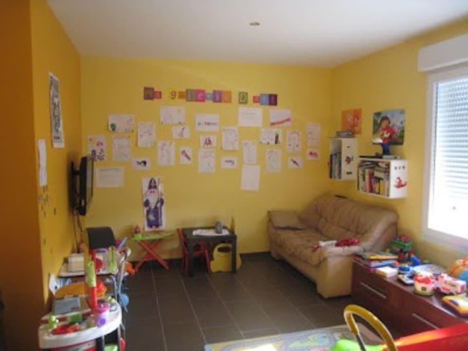 Salle de jeux enfants, Kids room