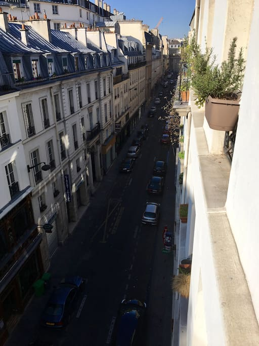Our street and view
