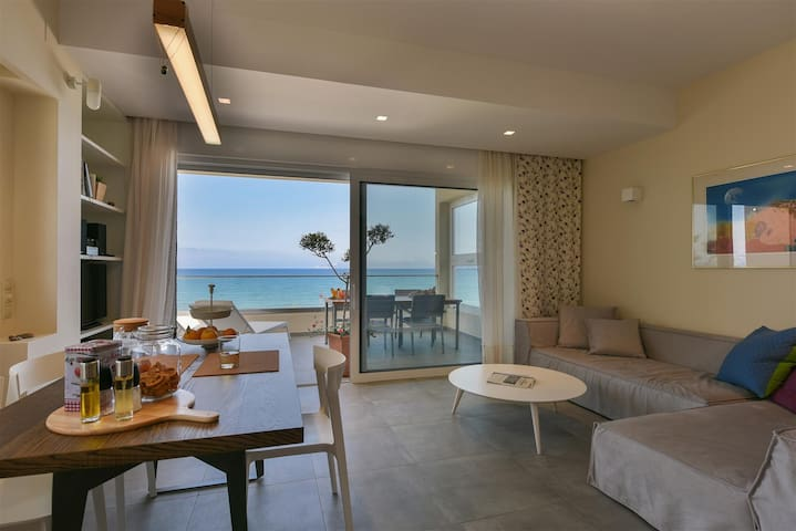 Pasithea beach suite with amazing sea view