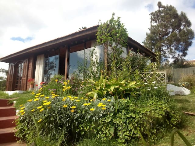 Room in a cottage. Close to city - Santa Brígida - Huis