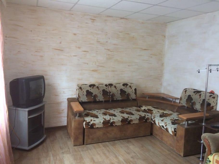 В комнате отдыха