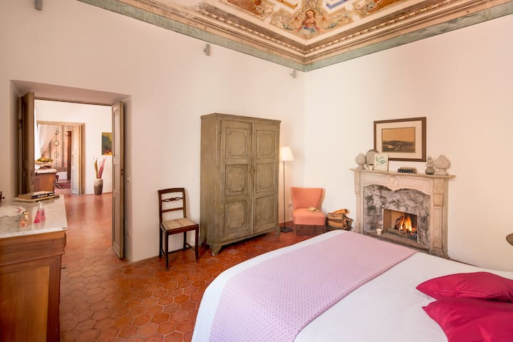 La Casa del Cavaliere, del 1700 - Borgomaro - Lägenhet