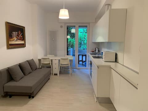 Very nice apartment, a few steps from the sea