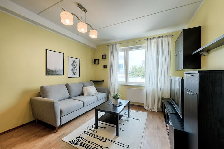 Amazing central location, cozy and sunny apartment