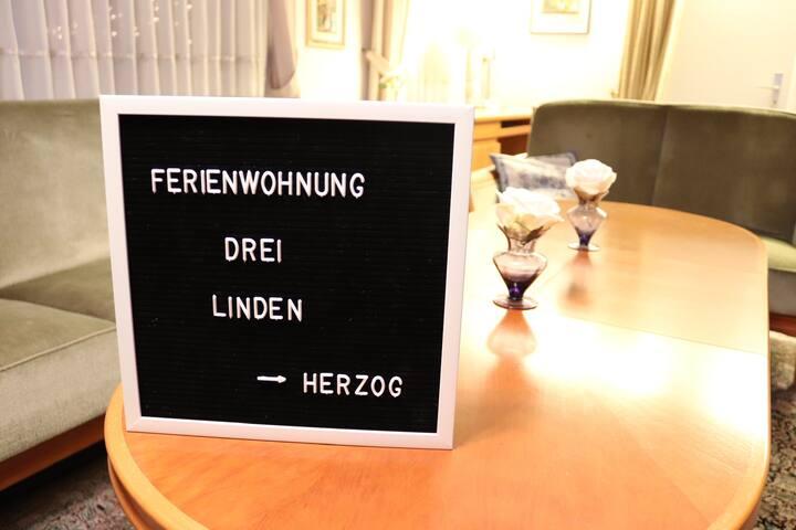 Ferienwohnung Drei Linden - Märchenstube