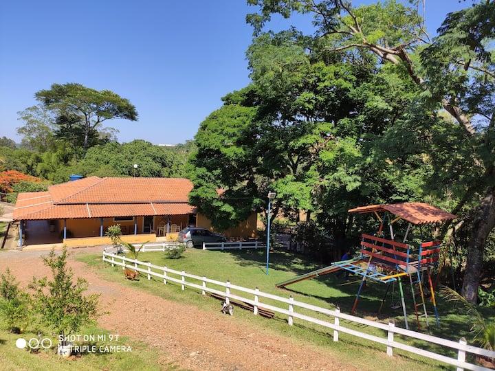 Casa de Campo c/ vista para açudes- pesca proibida